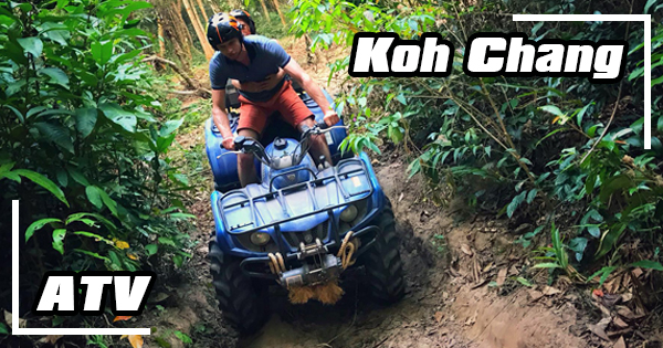 ATV tour in the jungle of Koh Chang