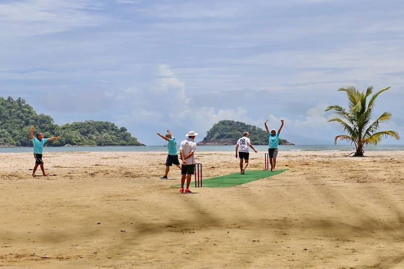 Koh Chang Beach Cricket