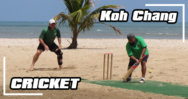 Where to play cricket on Koh Chang?