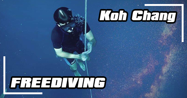 Freediving on Koh Chang