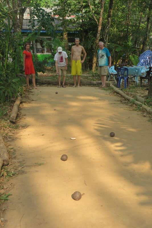 Pétanque at Blue Lagoon Resort