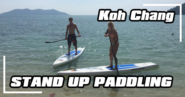 Standup paddleboarding on Koh Chang