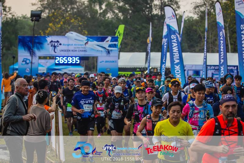 Ultra-Trail Unseen Koh Chang - 35k start