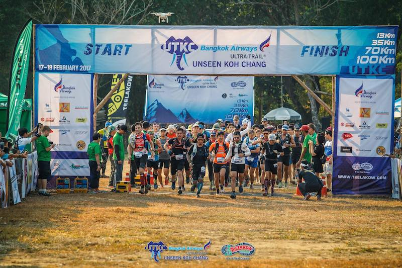 Ultra-Trail Unseen Koh Chang - 100k start