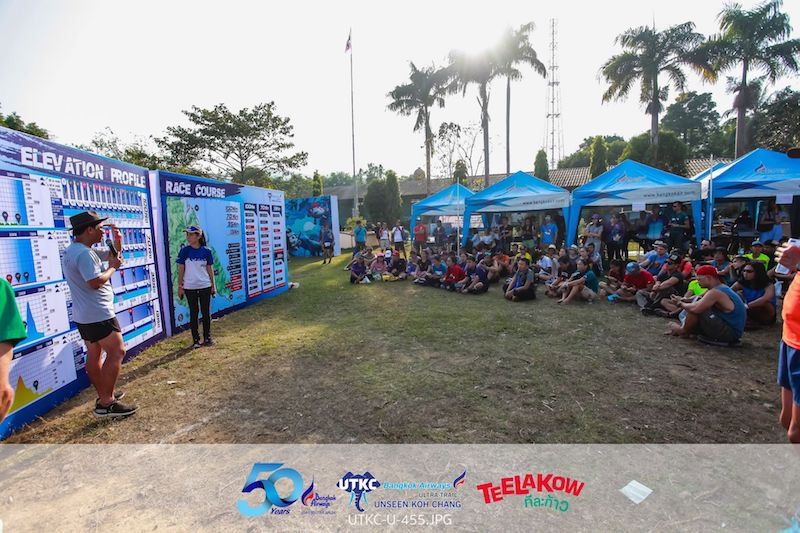 Ultra Trail Unseen Koh Chang - Briefing