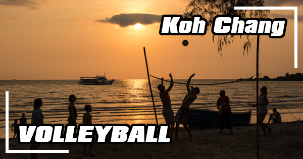 Where to play volleyball on Koh Chang?